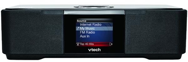 vtech propose une nouvelle radio wi fi. Black Bedroom Furniture Sets. Home Design Ideas