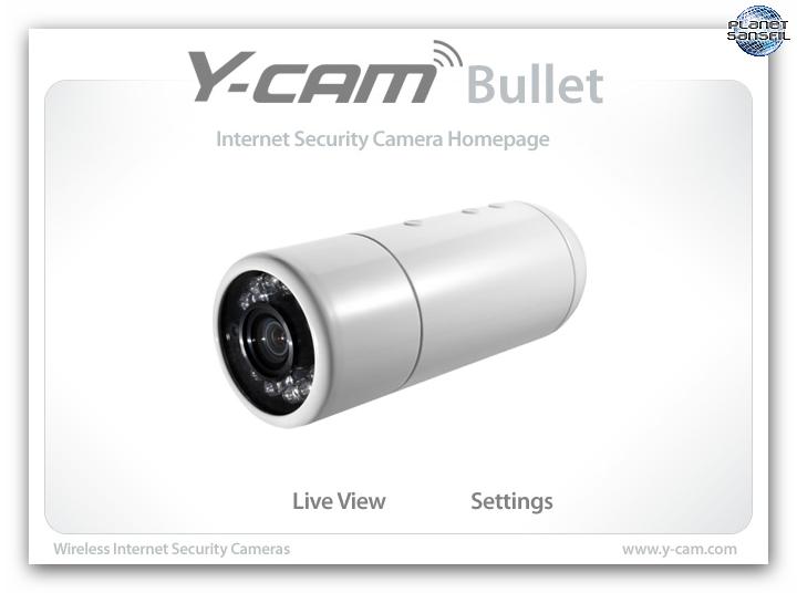 Test y cam bullet black for Logitech camera exterieur