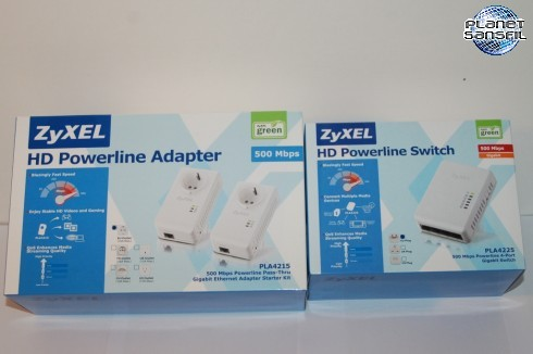 ZyXEL HD Powerline PL4225 & PL4215