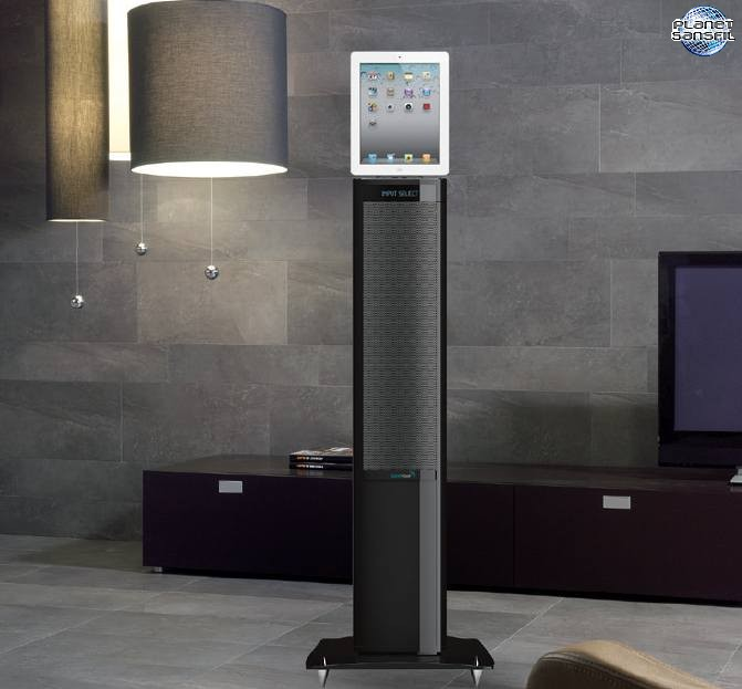 soundvision propose une tour audio bluetooth. Black Bedroom Furniture Sets. Home Design Ideas