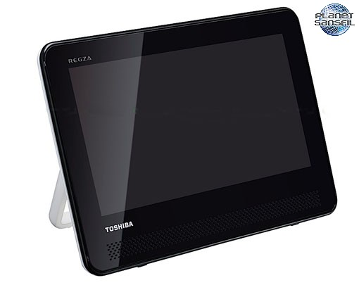 un nouveau lecteur dvd tv portable chez toshiba. Black Bedroom Furniture Sets. Home Design Ideas