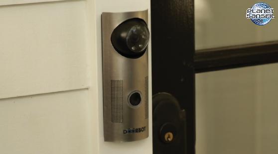 Une sonnette de porte wi fi - Sonnette mecanique de porte ...