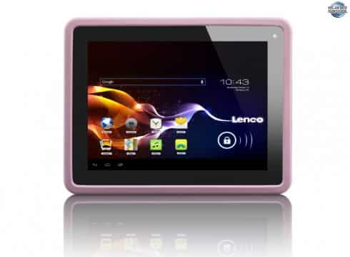 Lenco-CoolTab-80-front-sweet-Pink-white