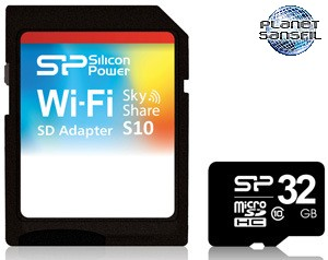 Silicon-Power-Sky-Share-S10-WiFi-Enabled-SD-Adapter