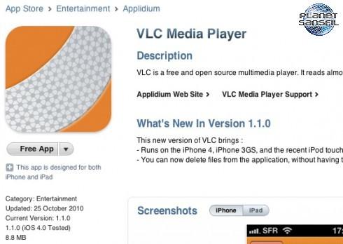 VLC-in-App-Store