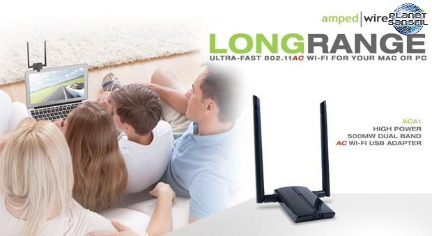 booster la r ception de votre wi fi avec amped wireless. Black Bedroom Furniture Sets. Home Design Ideas