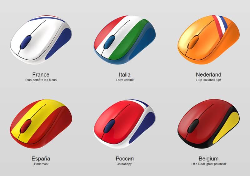 souris sans fil couleur