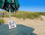 WiFi at the beach