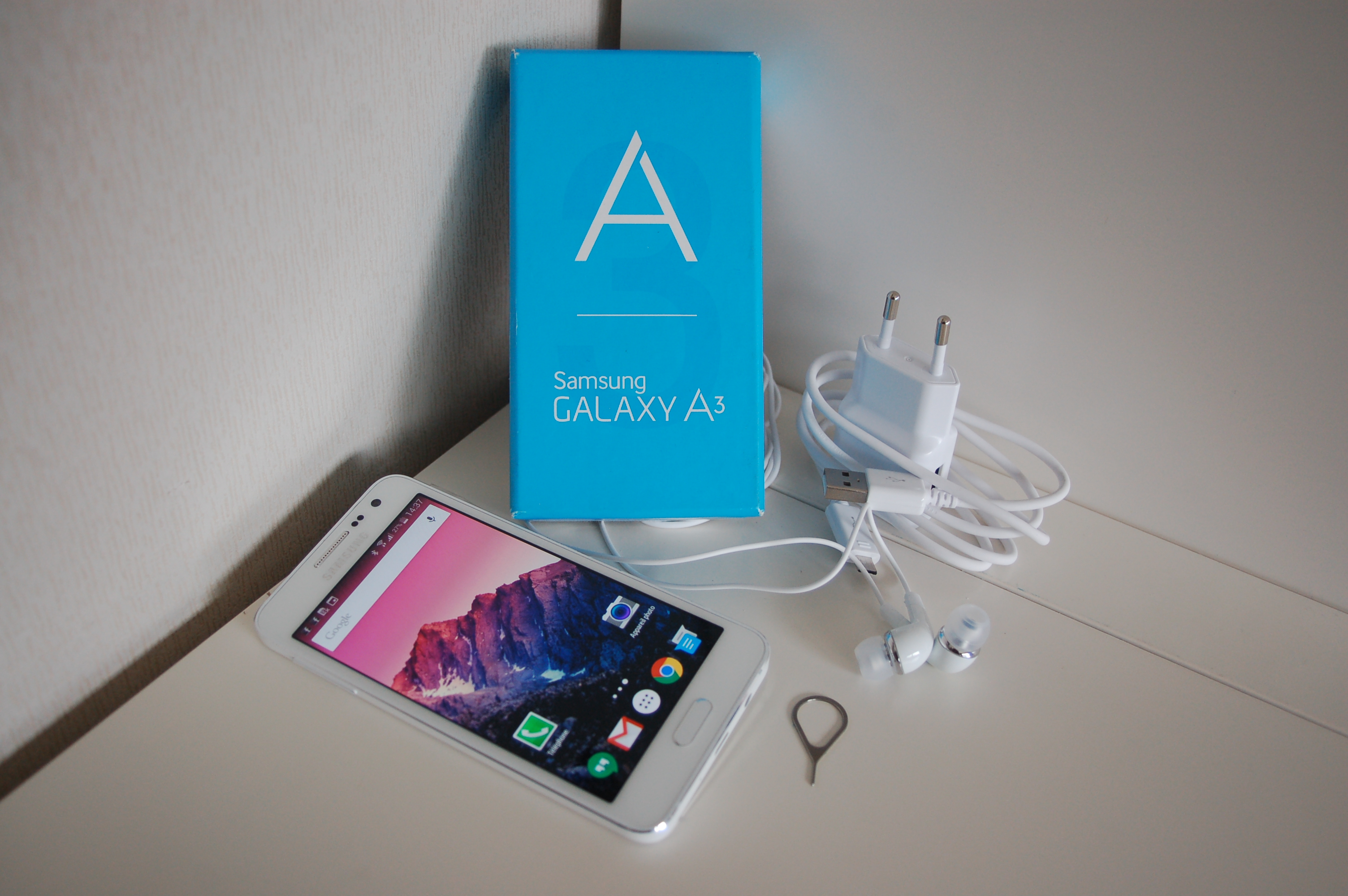 Samsung Galaxy Q3 Package