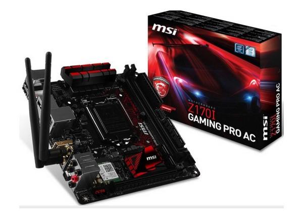 MSI Z170I-Gaming-Pro-AC