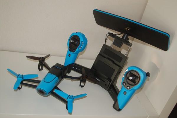 Test : Parrot Bebop avec Skycontroller