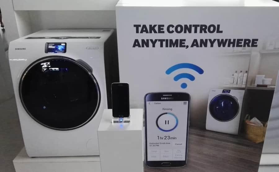 ifa 2015 samsung une nouvelle machine laver connect e. Black Bedroom Furniture Sets. Home Design Ideas