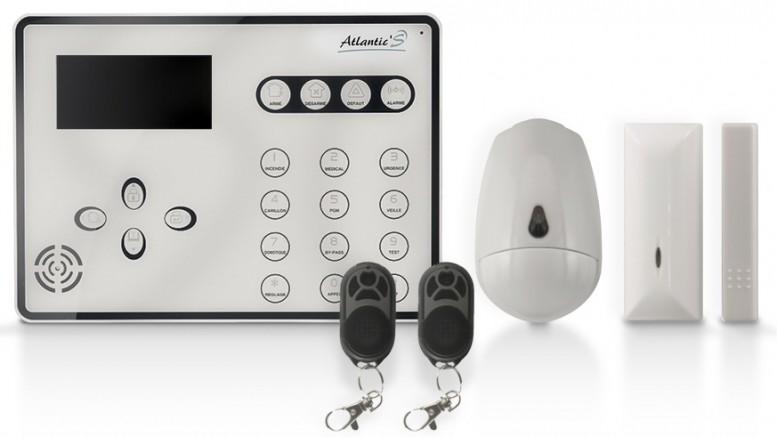 test alarme gsm atlantic 39 s ateos avec ou sans fil. Black Bedroom Furniture Sets. Home Design Ideas