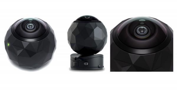 360 Fly caméra wi-fi à 360°