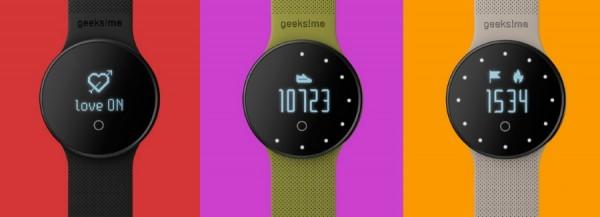 GME1 la montre connectée qui s'intéresse à l'environnement.