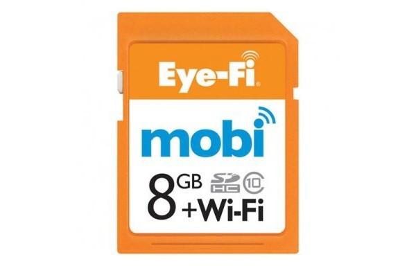 eyefi carte mémoire WiFi