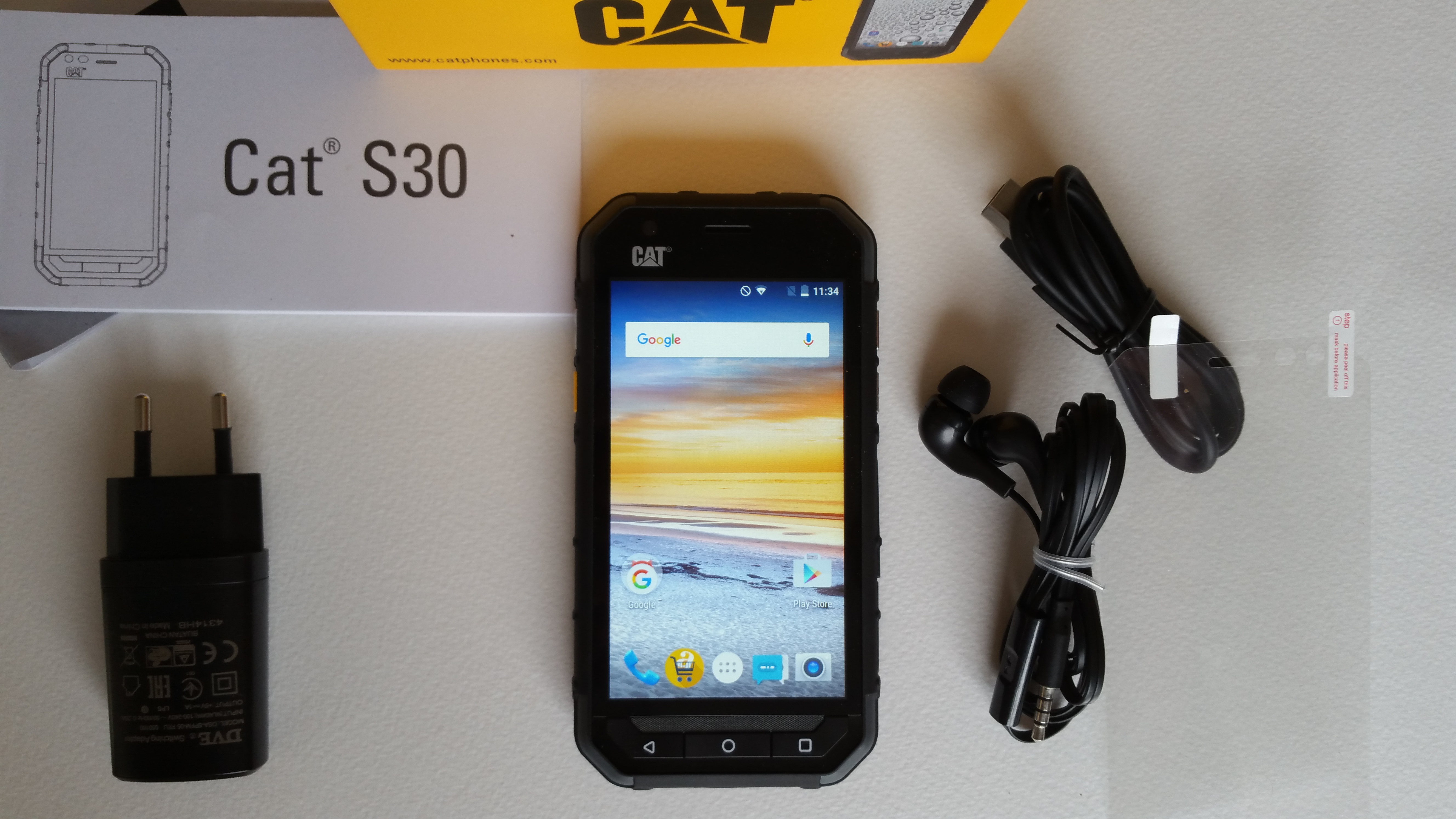 test cat s30 le smartphone de chantier de caterpillar. Black Bedroom Furniture Sets. Home Design Ideas