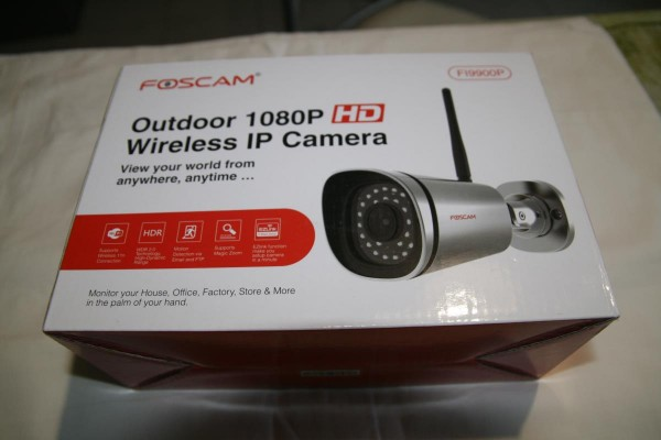 Foscam FF990P Caméra sans fil Wi-Fi