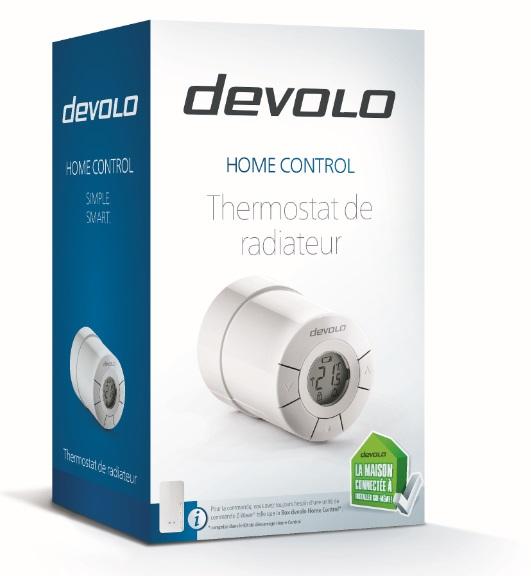 devolo Thermostat de radiateur connecté