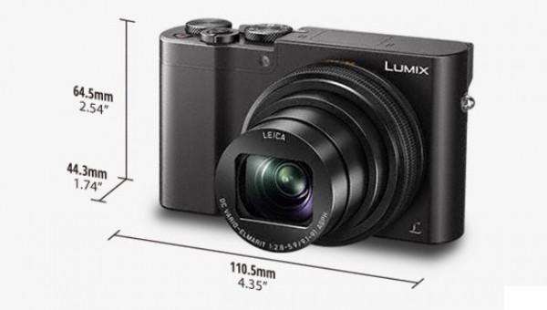 LUMIX DMC-TZ100 Appareil photo numérique Wi-Fi noir