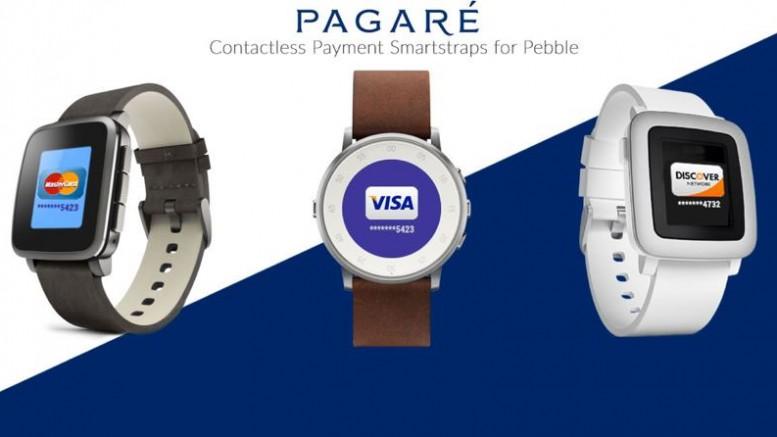 pagare bracelet de paiement NFC pour Pebble Time