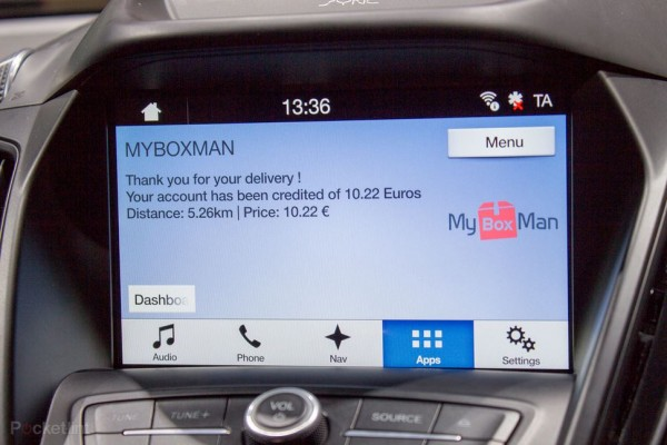 myboxman inclut dans SYNC3 de Ford