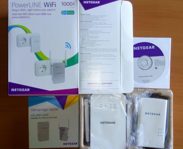 Netgear PWL1000 kit CPL (3)