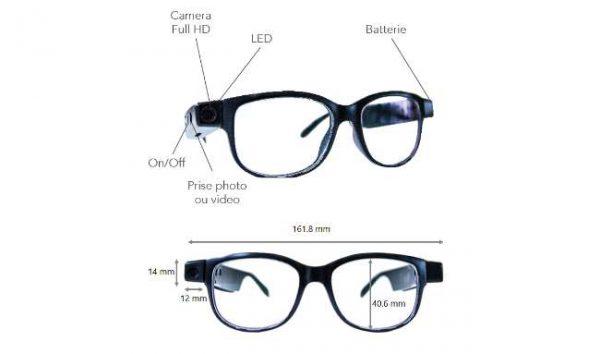tikaway lunette wifi caméra 02