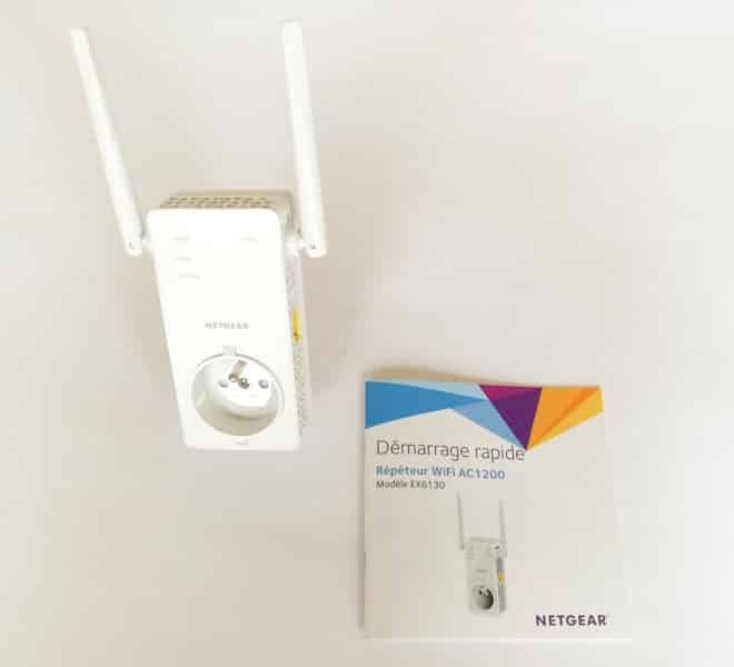 Test r p teur wifi netgear ac1200 ex6130 for Repeteur wifi exterieur netgear