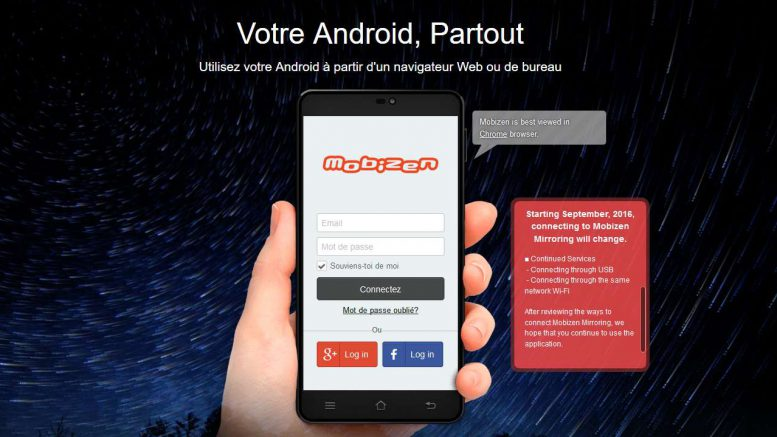 Mobizen ou comment piloter votre smartphone depuis votre pc - Piloter volet roulant par smartphone ...