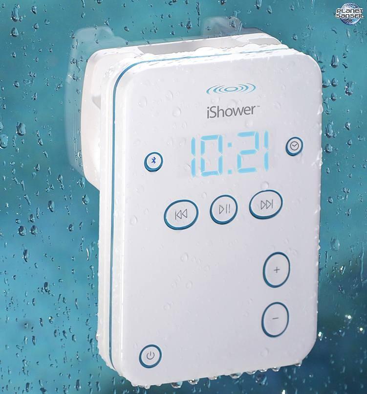 Des haut parleurs bluetooth pour votre douche for Radio salle de bain darty