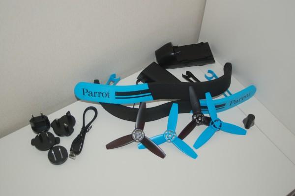 Test : Parrot Bebop avec Skycontroller accessoires
