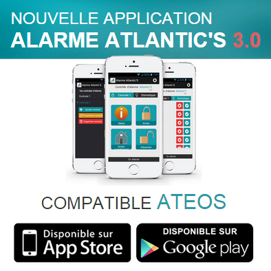 test alarme gsm atlantic 39 s ateos avec ou sans fil page 3 sur 4. Black Bedroom Furniture Sets. Home Design Ideas