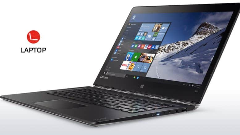 Lenovo Yoga 900 Laptop convertible