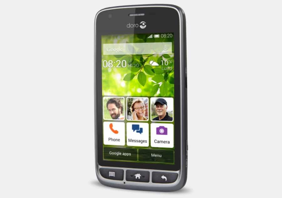 doro liberto 820 mini le smartphone pour senior. Black Bedroom Furniture Sets. Home Design Ideas