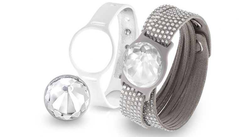 Swarovski Shine Slake Set, un tracker d'activité fashionista