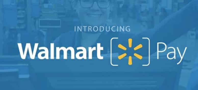 walmart pay paiement électronique sans fil via QR Code