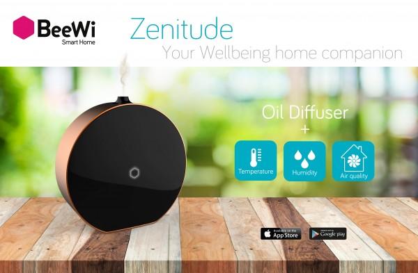 zenitude diffuseur d'huile essentielle connecté par BeeWi