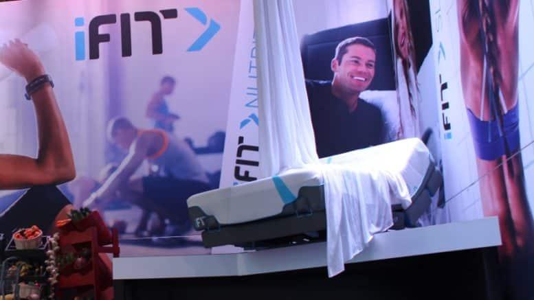 iFit Rise lit connecte bluetooth