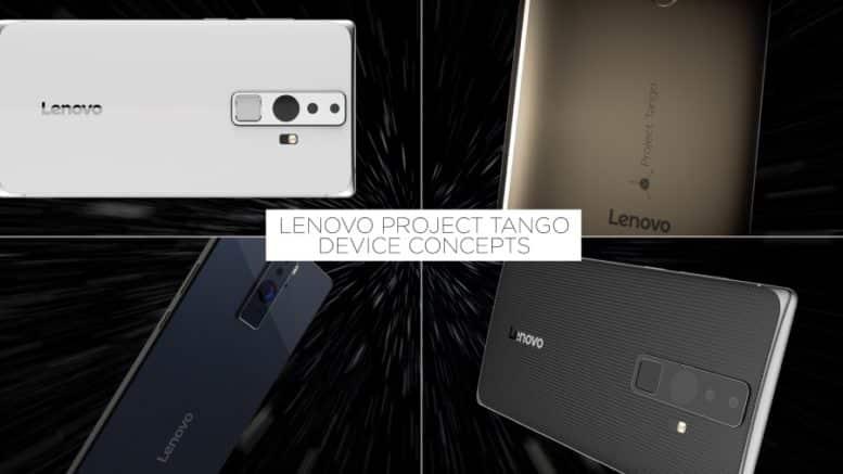 lenovo annonce un premier smartphone basé sur le projet tango