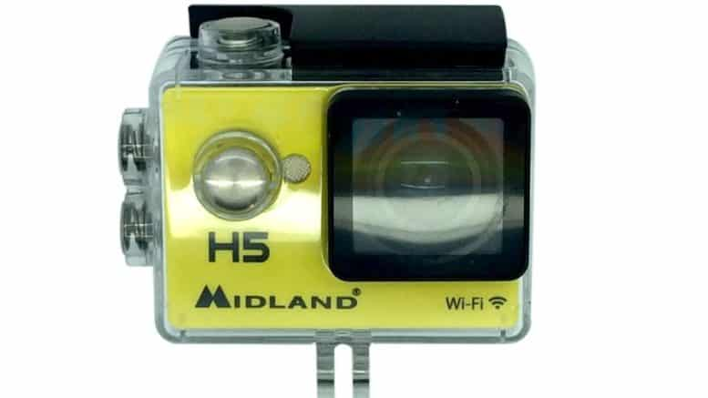 midland H5 Action Cam Wi-Fi