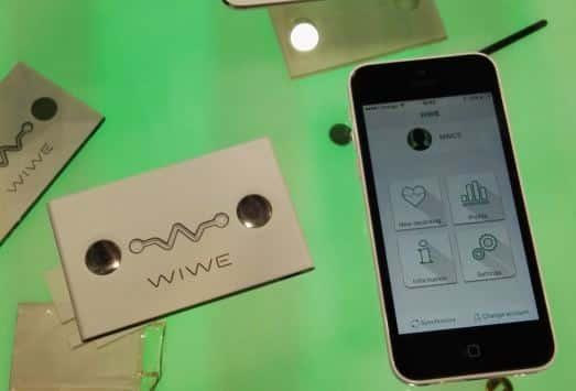 wiwe cardiomètre connecté bluetooth