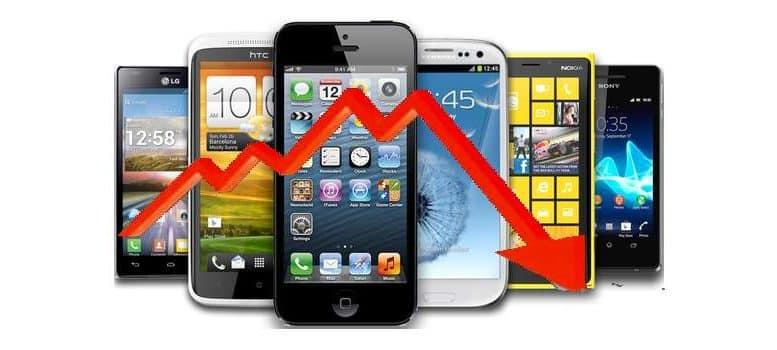 smartphone chutte