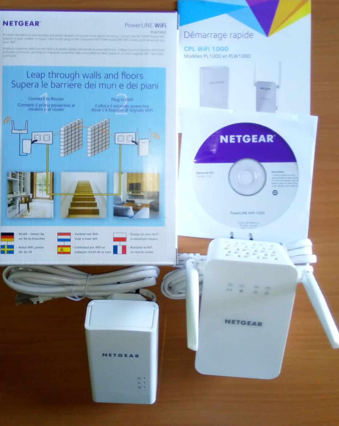 test kit cpl plw 1000 netgear gigabit page 3 sur 3. Black Bedroom Furniture Sets. Home Design Ideas