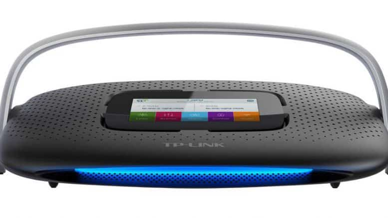 TP-link SR20 routeur domotique Wi-Fi, Z-Wave