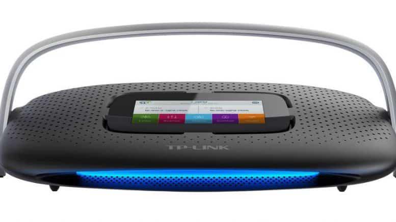 TP-link SR20 routeur domotique Wi-Fi, Z-Wave