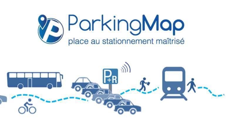 parking connecté ParkingMap