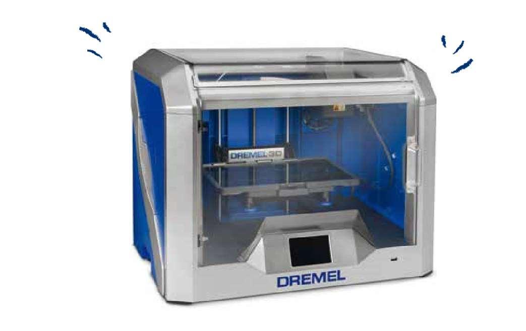 Idea builder 3d40 une imprimante 3d et wi fi - Imprimante 3d dremel ...