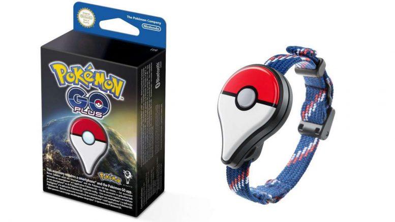 Pokemon Go Plus bracelet bluetooth connecté