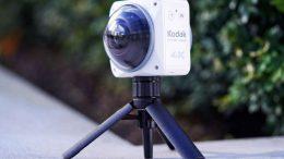 kodak 4kvr360 camera 360 wifi